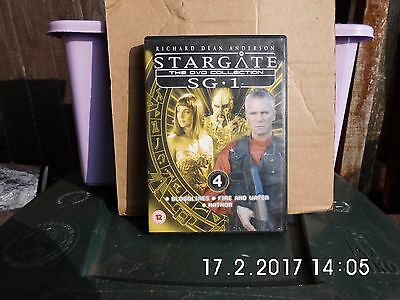 Stargate Sg1 The Dvd Collection Dvd Number 4