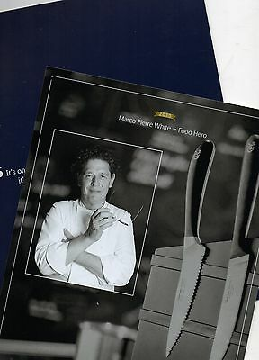 Official P&o Photo - Marco Pierre White - Food Hero