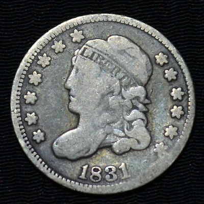1831 Capped Bust Half Dime, Good/very Good