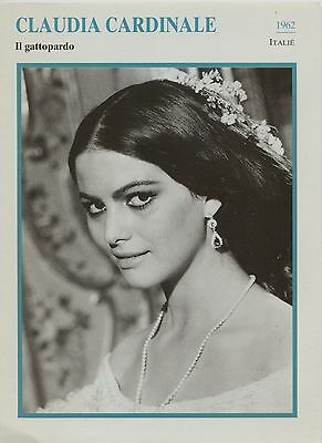 Claudia Cardinale - Italien Actress Film/Movie/Cinema Trading Card
