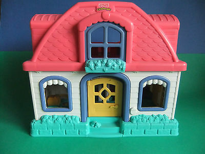 Fisher Price Little People House with Sounds