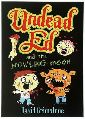 Undead Ed and the Howling Moon - Promotional Postcard