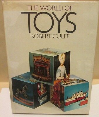 1969 'The World of Toys' by Robert Culff HB in DJ