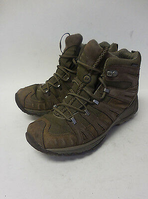 J5763L Pre Owned Women's Merrell Waterproof Brown Boot 8.5 M