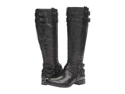 NEW Born - Nalani Boots, Black Full Grain Leather, Women's Size 6.5, $190