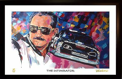 70% Sale Dale Ernhardt Fine Art Print 96/99 Signed By Painter To Stars Winford