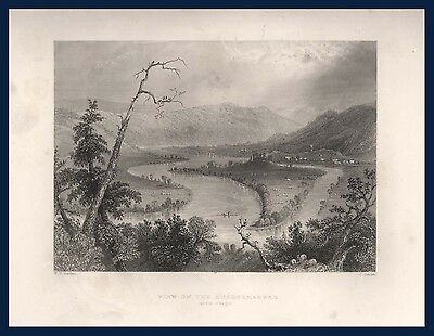 View on the Susquehanna above Owego or at Grand Island Estes and Lauriat Boston