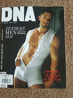 Dna Magazine Issue 200 Sexiest Men Alive Issue