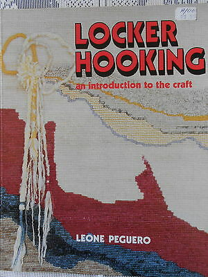 Locker Hooking Introduction To The Craft Pattern Book By Leone Peguero