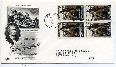 1968 USA John Trumbull First Day CoverCover