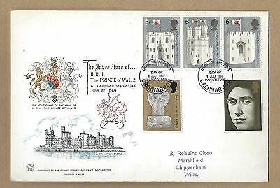 1969 Prince Of Wales Investiture First Day Cover