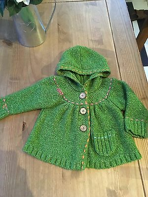 Next Baby Girl Chunky Cardigan 9-12 Months
