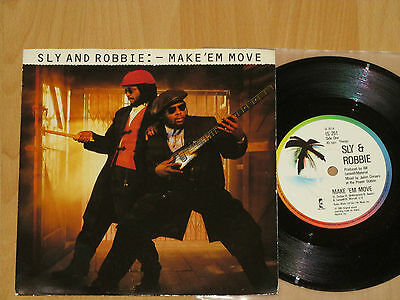 """7"""" Sly And Robbie - Make 'em Move - Bill Laswell - Material - Good To Go"""