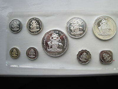 Bahamas Proof Coin Set 1975 Much Silver Content