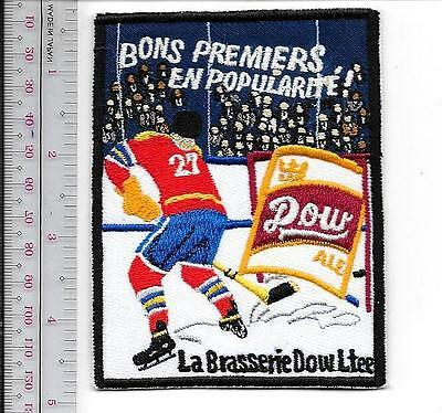 Beer Hockey Dow Brewery Montreal Quebec City National Hockey League 1957 Promo