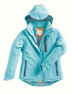 New Harry Hall Turquoise Beswick Winter Jacket With Interactive System Size 18