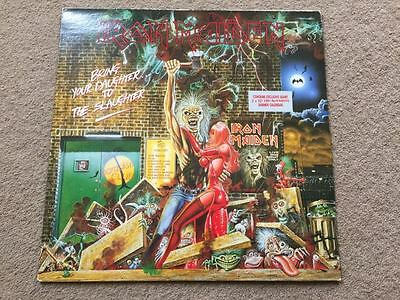 """Iron Maiden Bring Your Daughter To The Slaughter 12"""" Vinyl Calendar not present"""