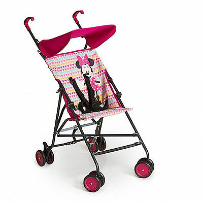 New Hauck Minie Geo Pink Sun Plus Lightweight Pushchair Baby Stroller Buggy