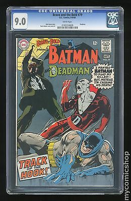 Brave and the Bold (1955 1st Series DC) #79 CGC 9.0 0182224009