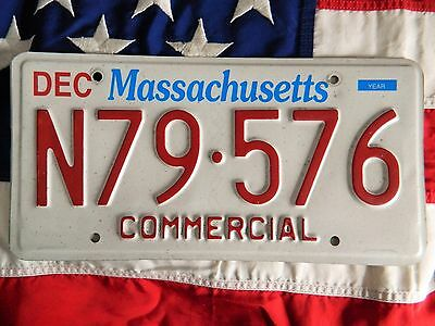 MASSACHUSETTS licence plate plates USA NUMBER AMERICAN REGISTRATION