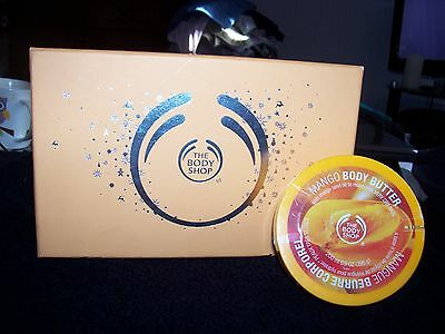 Body Shop Mango  Gift Set And A 200Ml Matching Body Butter.....