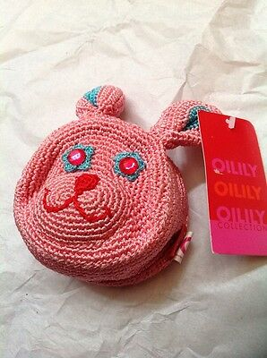 Oilily Rabbit Coin Purse Brand New With Tag