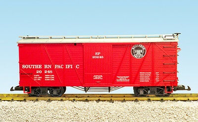 USA Trains G Scale 1455A OUTSIDE BRACED BOX CAR Southern Pacific #20248