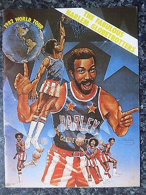 Harlem Globetrotters 1982 World Tour 24 Page Programme, Very Good Condition.