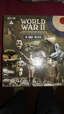 Box Set Of 8 Dvd's About The Second World War