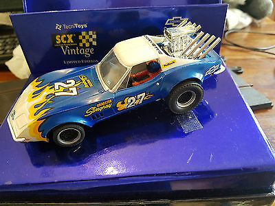 "SCX Dragster Vintage Corvette Stingray Dragster ""Limited Edition"" BNIB"