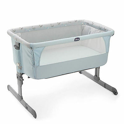 Chicco Sky Special Edition Next 2 Me Height Adjustable Side Sleeping Crib