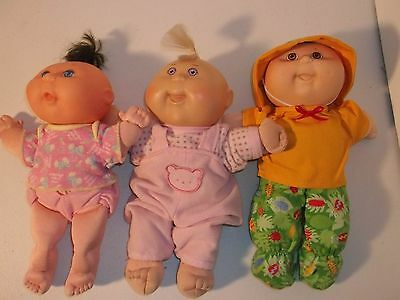 3 Cabbage Patch Kids Doll Babies