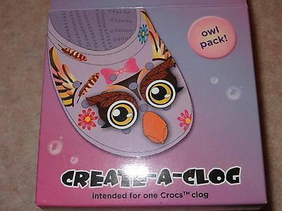 Owl Pack Genuine Jibbitz Charm - Crocs - Brand new with tags