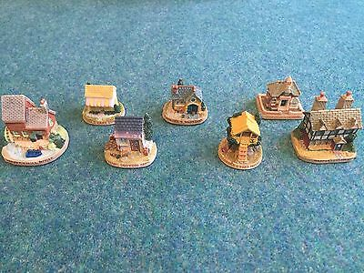 Complete SET Of Tetley Tea Houses From 1996
