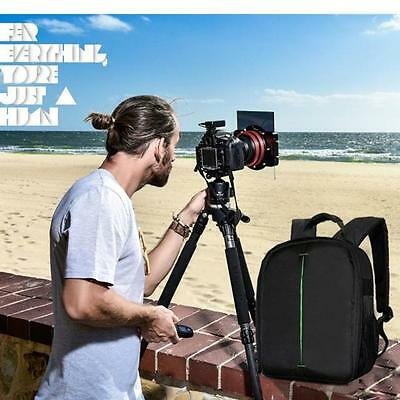 Camera Bag Backpack Waterproof DSLR Soft Case with Carabiner For Canon Xmas