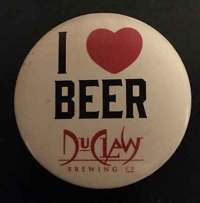 """DuClaw Brewing Company """"I  3 Beer"""" pin Baltimore, MD craft beer I Love Beer"""