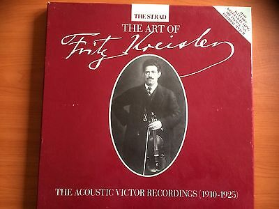The Art of Fritz Kreisler - Acoustic Victor recordings (1910-25) - 5 LP box set