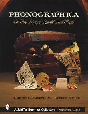 Early Phonographs Collector Reference w Adv Postcards Specs Catalogs & More