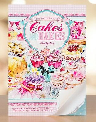 Hunkydory Little Book Cakes & Bakes Card Toppers x 24 Sheets