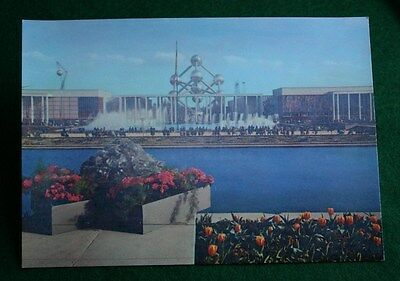 Brussels Postcard - 1958 Exposition