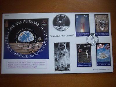 JS(CC)64 30th ANNIV 1st MANNED MOONLANDINGS THE EAGLE HAS LANDED COVER