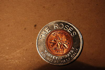 Encased Canada 1964 Cent - The Roses