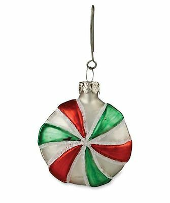Bethany Lowe - Christmas - Round Glass Candy Ornament - LG2690