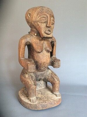 An Old Seated Songye Figure ~ Rare