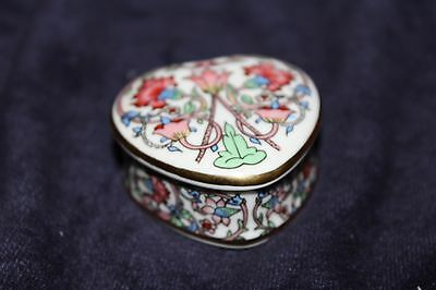 Museum Collections Heart Shaped Trinket Box Highly Coillectable