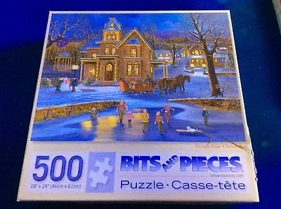 Bits and Pieces - 500 Piece Jigsaw - SLEIGH RIDE CHRISTMAS