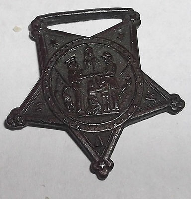 "G.a.r. Medal ""grand Army Of The Republic"" In Good Condition"