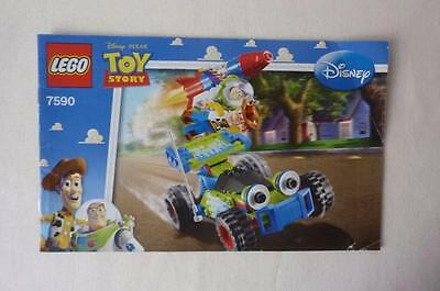 Lego 7590 Disney Toy Story Woody & Buzz To The Rescue  Instruction Manual Only