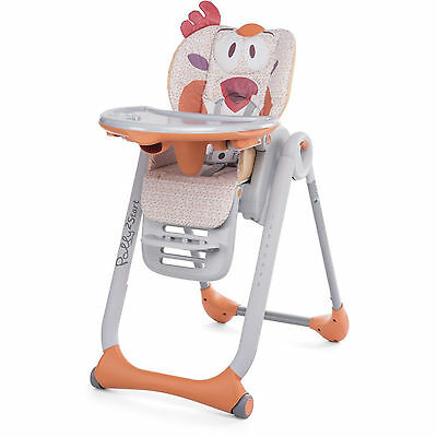 Chicco Chicken Polly 2 Start Baby Feeding Height Adjustable Reclining Highchair