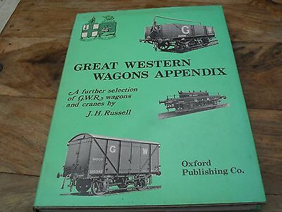 GREAT WESTERN WAGONS APPENDIX RUSSELL book railways